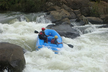 White Water Rafting at Coorg