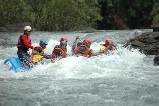 White Water Rafting at Sitanadi