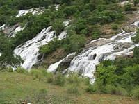 Bharachukki Falls Flowing towards to River