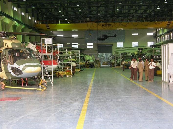 aeronautics industry, HAL