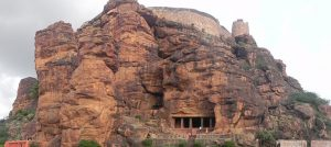 cave temple in Karnataka, Badami fort, Bdami, Badami Sightseeing