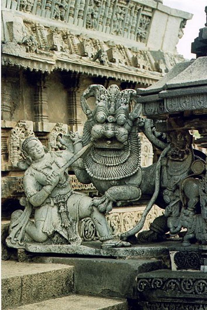 Hoysala emblem, Hoysalas