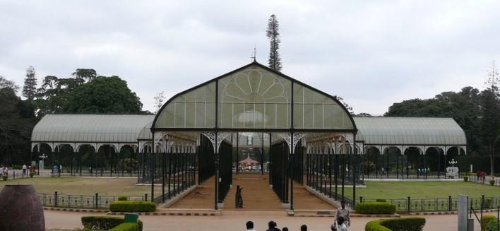 aprks in Bangalore, Glass House in Lalbagh, Bangalore. Photographer Carsten Karl