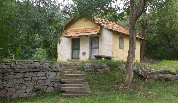 Namada Chilume old guesthouse where Dr.Salim Ali had camped. Photographer Gpitta