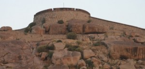 Bellary Fort. Photographer Marc Roberts