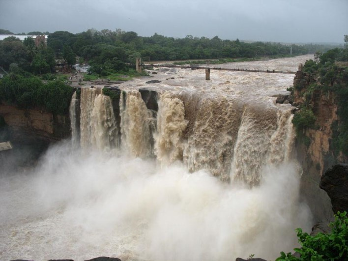Gokak Falls. Source Shishirmk  / Wikipedia