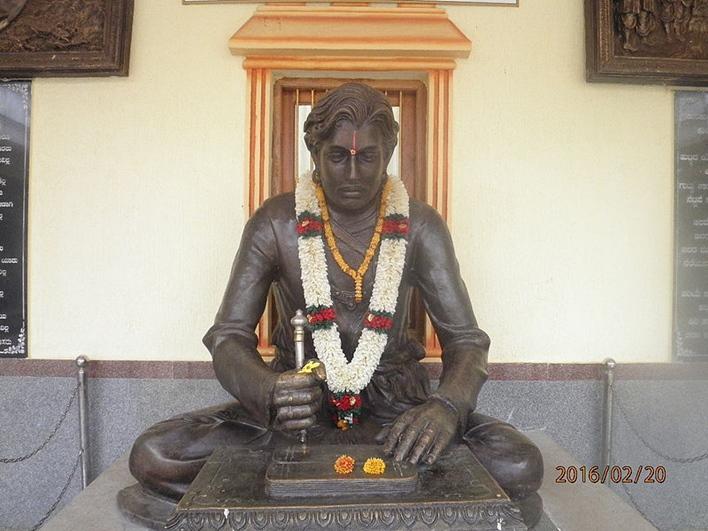 Bankapur, Haveri. Kanaka Dasa's home