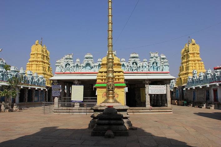 Koppal, Kanakachalapathi temple, Kanakagiri