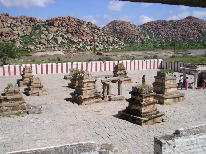 ramayana circuit, Nava Brindavan, Anegundi