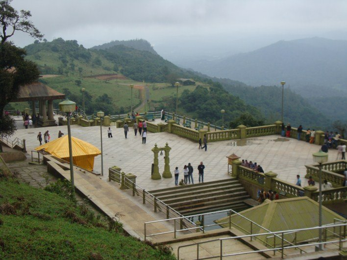 Kaveri tours, Talacauvery top view, near Virajpet
