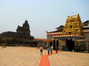 Sri Sharadamba and Vidyashankara temple in Sringeri