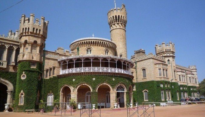 Bangalore Palace Main Entrance. Source Wiki