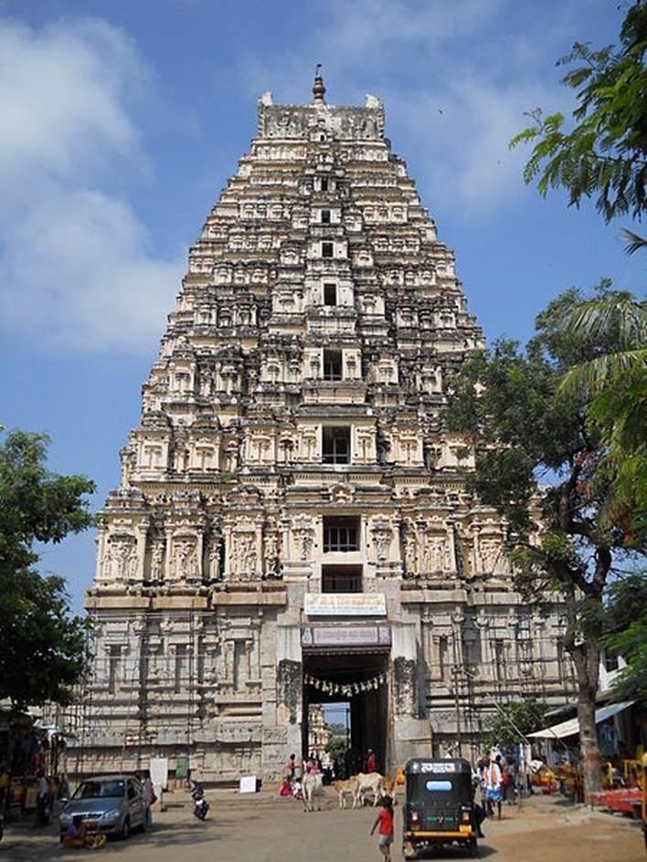 Virupaksha Temple, hampi, Karnataka Tourism, hampi by night