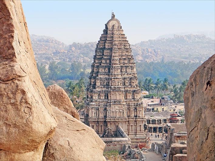 The Virupaksha Temple | Virupaksha Temple Hampi Architecture
