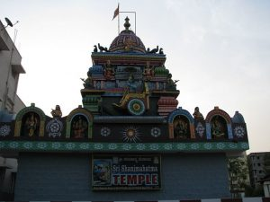 Sri Shanimahathma Temple, Chikka Madhure