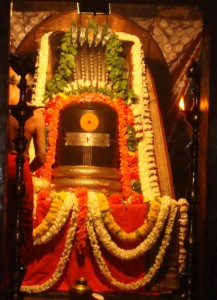 Shiva idol in Bhoga nandeeshwara temple, Nandi Hills