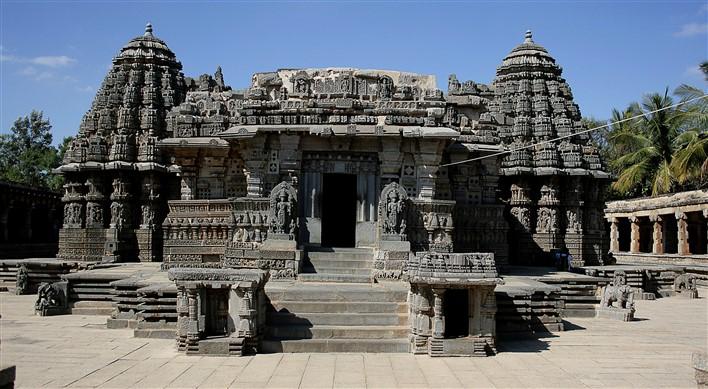 Keshava Temple, Somanathapura. Photographer Purshi