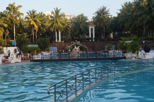 golden palms pool in Bangalore