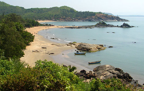 Om Beach, Gokarna, near Bangalore