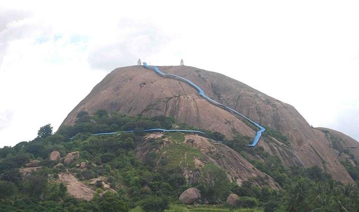 Revana Siddeshwara Betta, Rock Climbing in Ramanagara