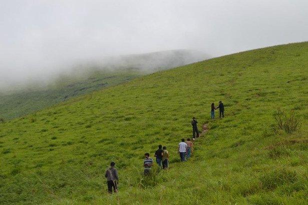 Trek To Brahmagiri Hills. Image source Thrillophilia.com