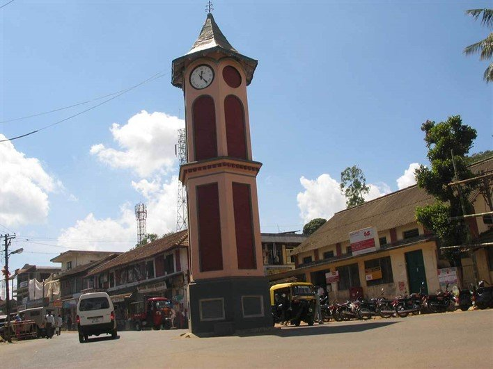 Clock Tower, Virajpet. near Virajpet