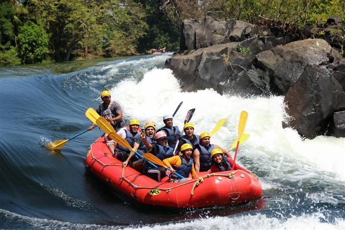White water rafting, Dandeli. Image source Flickr