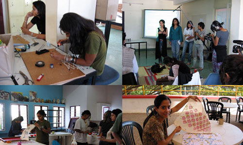 srishti school of art design and technology, bangalore