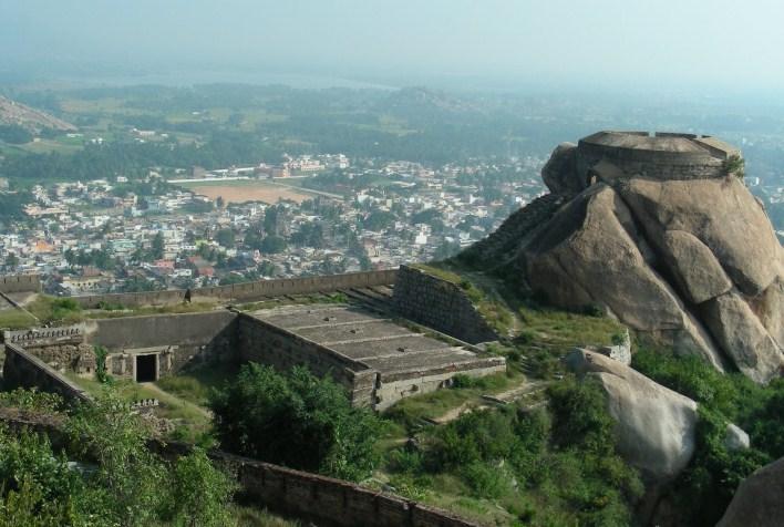 Madhugiri Fort, near Tumkur, near Bangalore