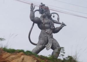 hanuman statue, nelamangala