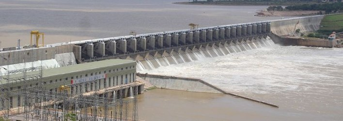 Almati dam, Bijapur. Source Wikipedia