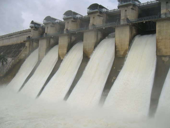 hemavathy dam gorur. Image source Flickr