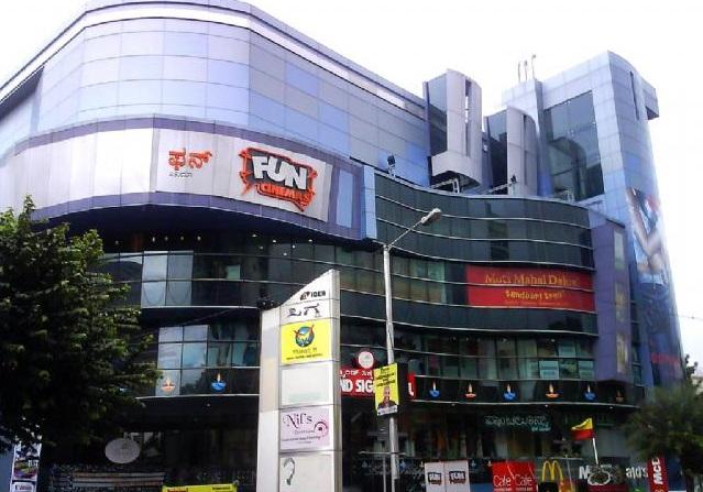 Grand Sigma Mall on Cunningham Road, Bangalore