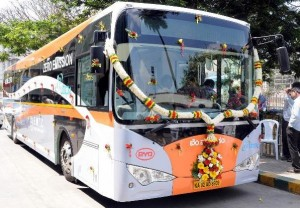 Electric Bus in Bangalore
