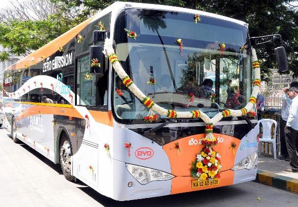 India's First Ever Electric Bus in Bangalore