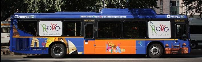 HoHo Bus in Delhi