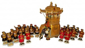dasara dolls arrangements, dasara procession dolls. Image source W@yfarer's Club