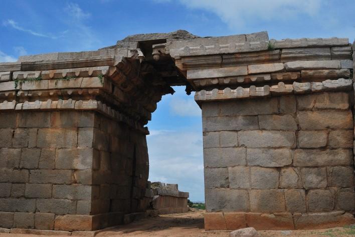 Bhima's Gate, Hampi. Photographer Lakshmisharath