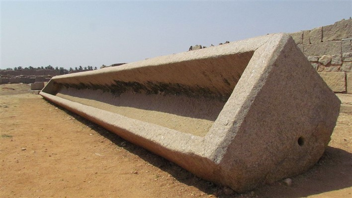 Large Stone Trough, Kamalapuram, Hampi. Photographer Ssenthilkumaran