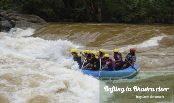 Rafting in Bhadra River