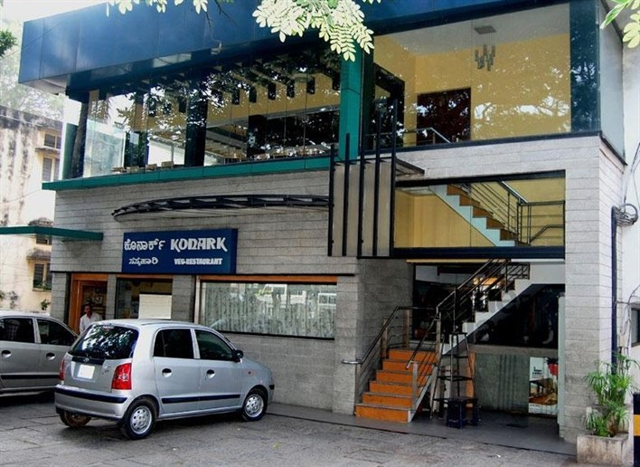 Konark Restaurant, Residency Road, Bangalore