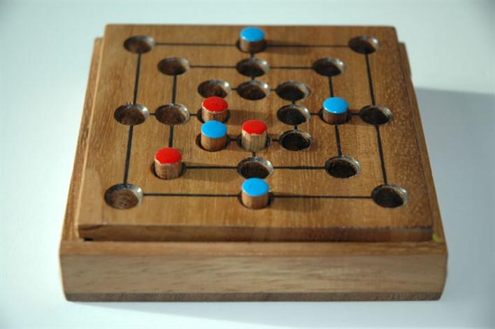 Nine Men's Morris. Image Source Berkely.edu