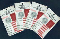 Voer ID Card in India, Number of Voters in Karnataka