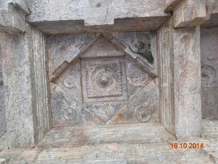 Roof at Chaturmukha basati.