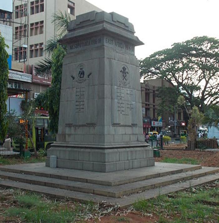Bangalore and World War I